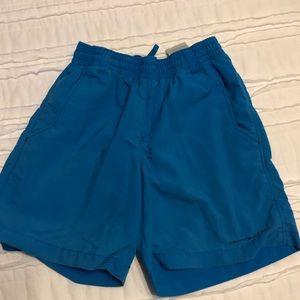 Boys Small Columbia Backcast Shorts